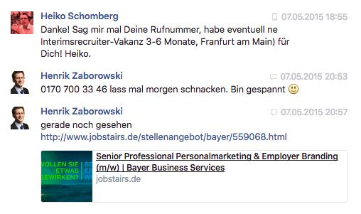 Schomberg Zaborowski Facebook
