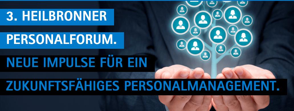 3. Heilbronner Personalforum am 21. März 2019