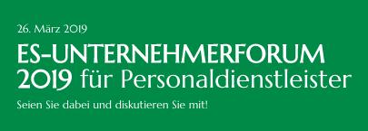 ES-Unternehmerforum am 26. März 2019 in Bad Nauheim