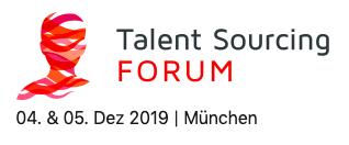 Recruiting Forum am 4./5.12.2019 in München