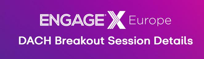 EngageX Europe 2020 am 05.11.2020